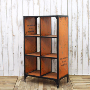 Bookcase 6hole Orange