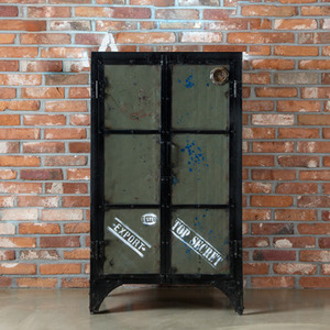 Cabinet 2door Darkgreen-ISD type