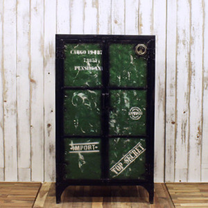 Cabinet 2door Green-ISD type